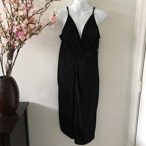 Forever 21 Black Woven Sleeveless Dress Size XL